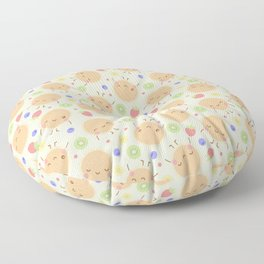 Pancakes with Fruit Floor Pillow