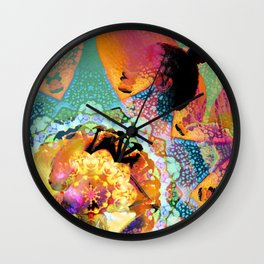 Kaleidoscope Dreams  Wall Clock