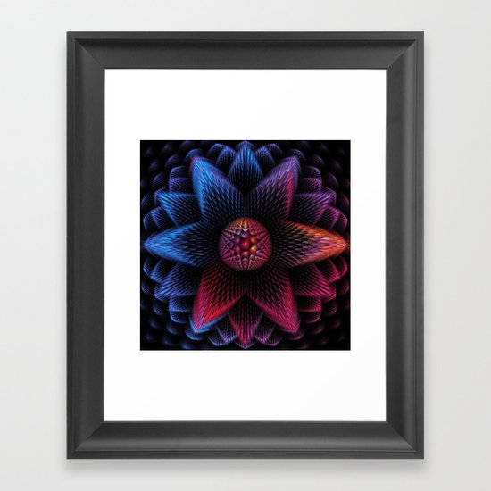 Be a Star Framed Art Print