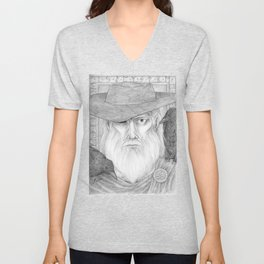 Odin Allfather Unisex V-Neck