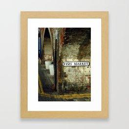Folkestone Fish Market Framed Art Print
