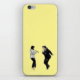 Pulp Fiction 'so dance good' iPhone Skin