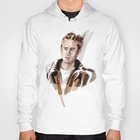 james franco Hoodies featuring James by Myrtle Quillamor
