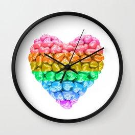 LGBT Heart, LGBT pride, LGBT pride heart, LGBT Wedding gift, Love poster, Love heart, Love forever Wall Clock