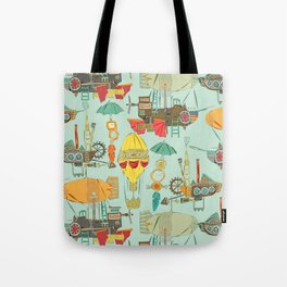 steampunk sky Tote Bag