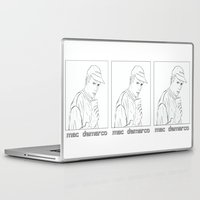 """mac Laptop & iPad Skins featuring """"Mac Sippin"""" by softmoon"""