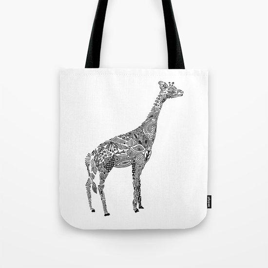 Designer Giraffe Tote Bag