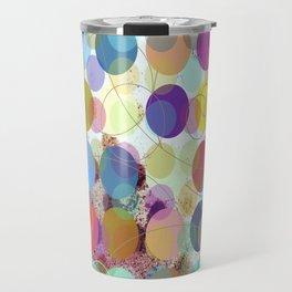 Colorful Dots No. 1 Travel Mug