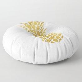 Golden Pineapple Floor Pillow