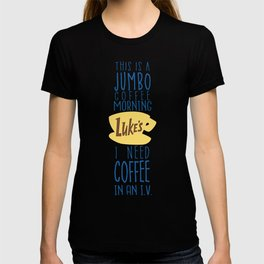 I need coffee in an I.V. T-shirt