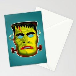 Frankenstein Monster Mask Stationery Cards