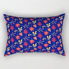 Autumn Themed Pattern Rectangular Pillow