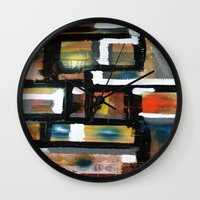 dancing Wall Clocks featuring DANCING by JANUARY FROST
