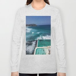 Bondi Icebergs, Sydney, Australia Long Sleeve T-shirt