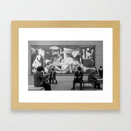 Guernica in Tokyo Framed Art Print
