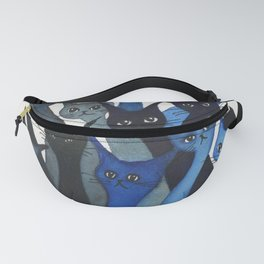 Escondido Whimsical Cats Fanny Pack