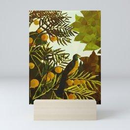 Bird in Tropical Jungle After Rousseau Mini Art Print