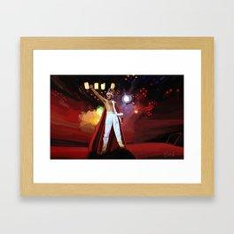 Hail to the Queen ♫♪ Framed Art Print