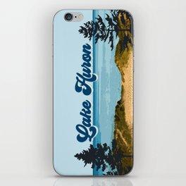 Lake Huron Retro iPhone Skin