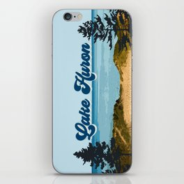 Lake Huron Retro iPhone Skin