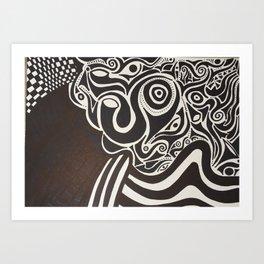 Take over Art Print