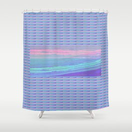 Piha Wave 1 Shower Curtain