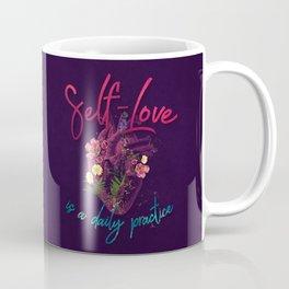 Kelly-Ann Maddox Collection :: Self-Love (Illustrated) Coffee Mug