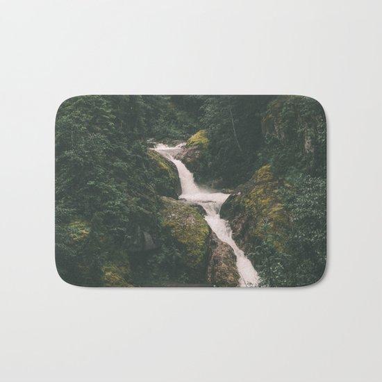 Lava Canyon Falls Bath Mat