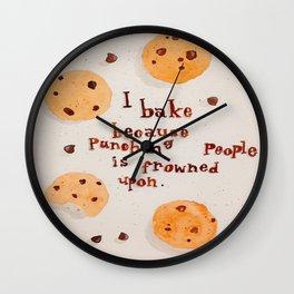 Baker's Creed Wall Clock