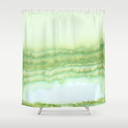 Sage Swell Shower Curtain