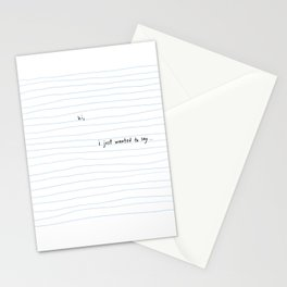 Cute Thank You - Blank Greeting Stationery Cards
