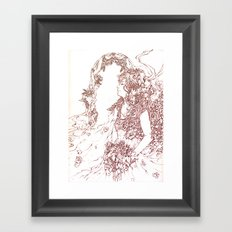I do. Framed Art Print