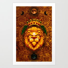 Lion's Roar Art Print