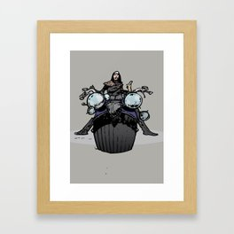 hershey bike Framed Art Print