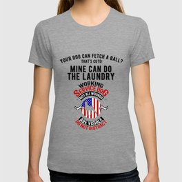 United States Service Dog For The Disabled And The Blind T-shirt