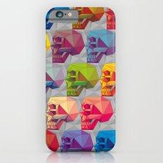 skull in color iPhone 6s Slim Case