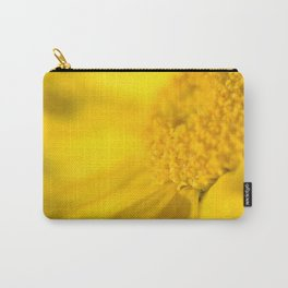 yellow yellow Carry-All Pouch