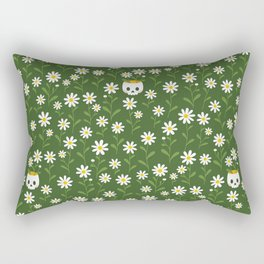 Pushing up daisies Rectangular Pillow