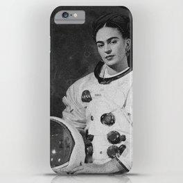 Frida in Space iPhone Case