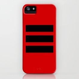 I Ching Yi jing - symbol of Qian iPhone Case