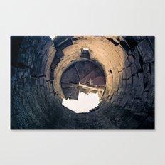 Shattered Spiral Canvas Print