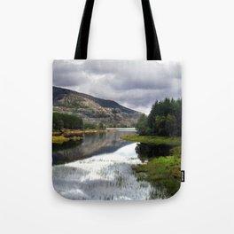 lakeside in norway. Tote Bag