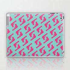Mint and pink guns Laptop & iPad Skin