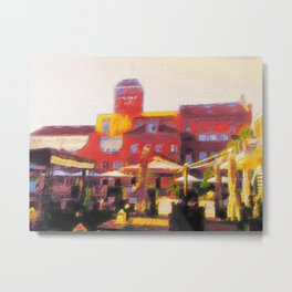 Muenster, Germania Campus Metal Print