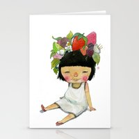 spring Stationery Cards featuring Spring  by Young Ju