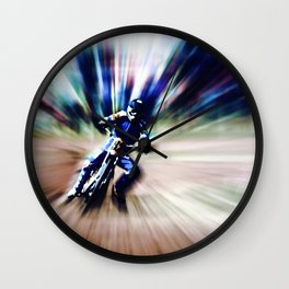 Warp Speed Wall Clock