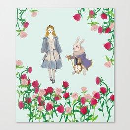 alice in wanderland Canvas Print