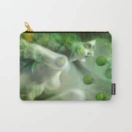 """Aquatic Spring Girl"" (2018 Version) Carry-All Pouch"