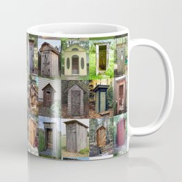 Outhouses Coffee Mug