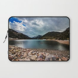 Canoeing with the Clouds Laptop Sleeve